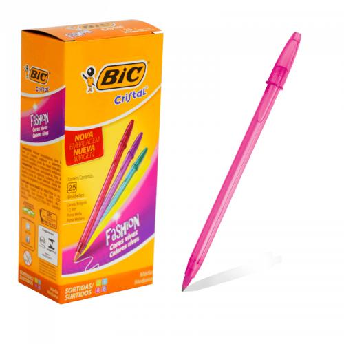 Boligrafo Bic Fashion 1.0 Fucsia