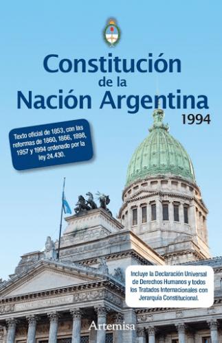 Libro Constitución Nacional Ed. Artemisa