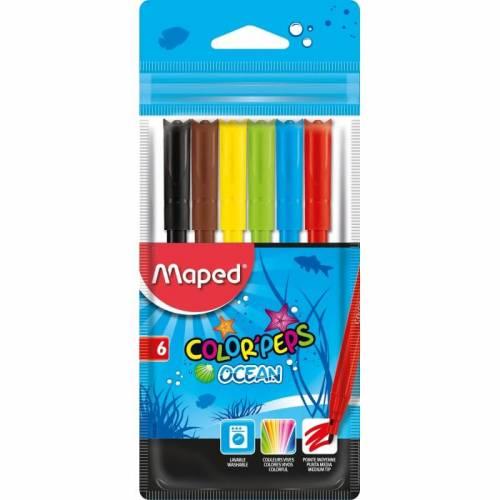 Marcadores Maped Ocean X 6 Colores Ref: 845723