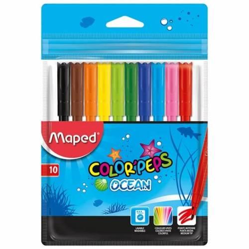 Marcadores Maped Ocean X 10 Colores Ref: 845724