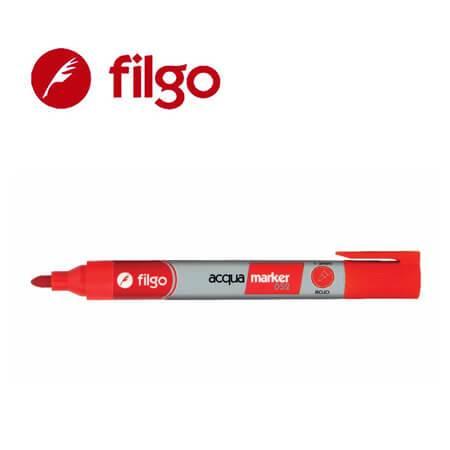 Marcador Filgo 052 Al Agua Pta Red Rojo