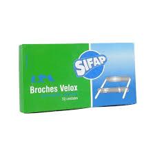 Broche Nepaco Nº2 Metal X 50 Unid Sifap