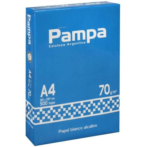 Papel Resma Pampa 70 Gr A4 210x297 500hj
