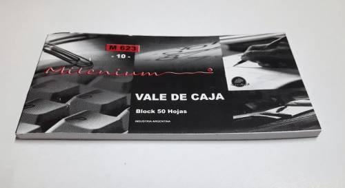 Talonario Vale De Caja M623