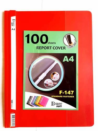 Carpeta Base Opaca T/transp C/suj Dunson A4 F147 Rojo