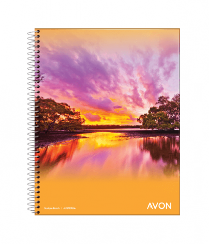 Cuaderno Avon 16x21 C/esp X 46 Hjs Rayado