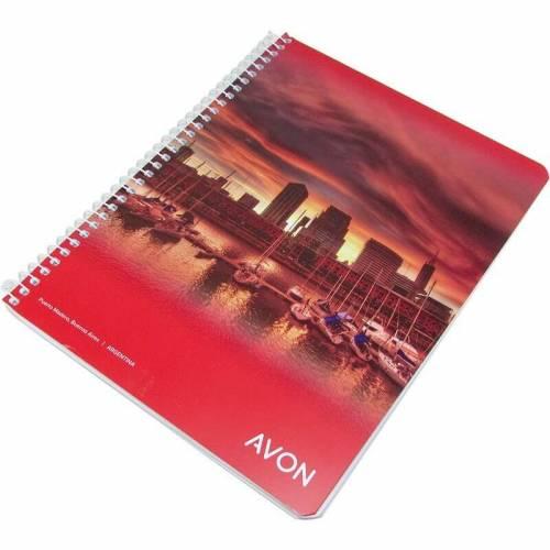 Cuaderno Avon 16x21 C/esp X 84 Hjs Rayado