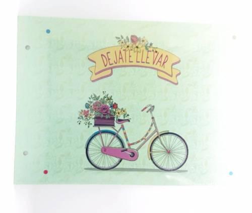 Carpeta C/cordon N°5 Onix Bicicletas 50003