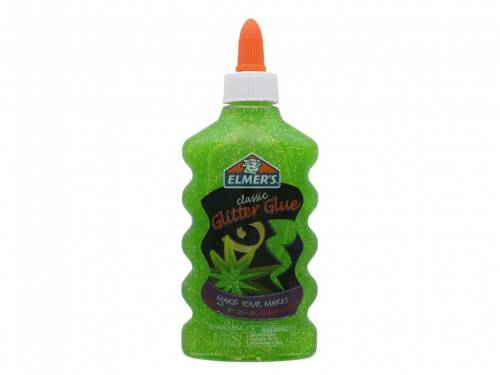Adhesivo Glitter Elmers X 177ml Verde