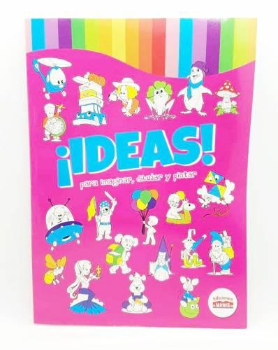 Libro Para Pintar Ideas 90p Mawis