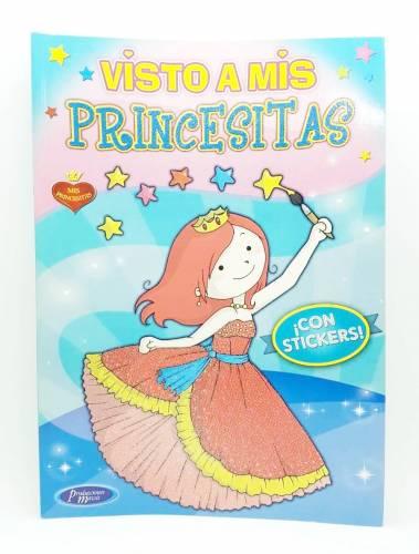 Libro Visto A Mis Princesitas C/stickers Mawis