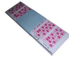 Cartones De Bingo Paq X 2040 Un