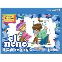 Block De Dibujo Nº5 El Nene X 24 Hjs Blanco