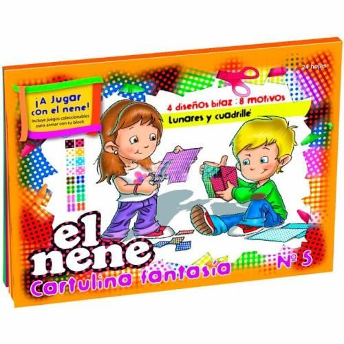 Block De Dibujo Nº5 El Nene X 24 Hjs Fantasia