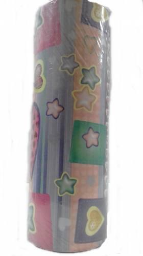 Bobina De Papel Muresco 35 X 200mts 3340 Estrellas Y Corazones