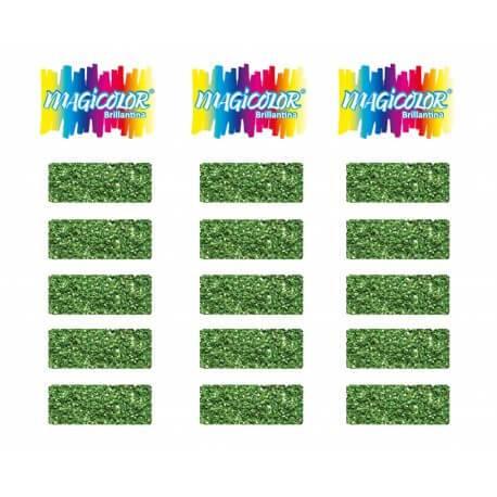 Brillantina Magicolor Blister X 100 Verde Claro