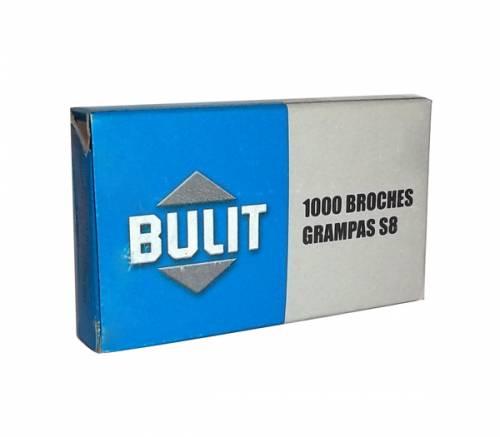 Broche Bulit Grampa S8 Mm X 1000