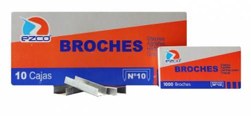 Broche Ezco Metal 10 X 1000