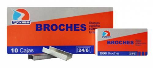 Broche Ezco Metal 24/6 X 1000