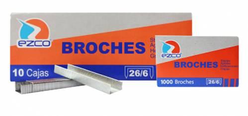 Broche Ezco Metal 26/6 X 1000