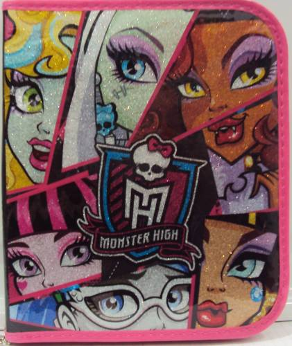 Canopla 24 Lapices Multiscope Monster High 6501