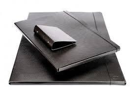 Carpeta Fibra Negra C/elástico 35x50 Util Of