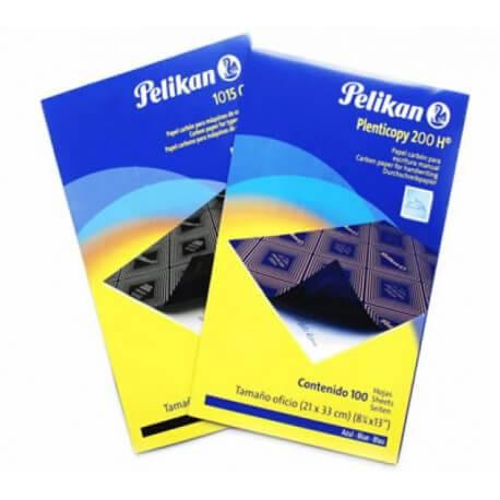 Carbonico Pelikan Oficio X 100 Azul Plenticopy 200 H