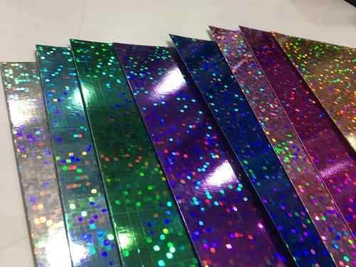 Cartulina Holografica 35x50cm Oro Paq X 10 Unid