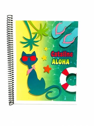 Cuaderno Catsline 16x21 C/esp X 42 Hjs Rayado