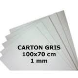 Carton Gris 70x100 1,0mm N°25