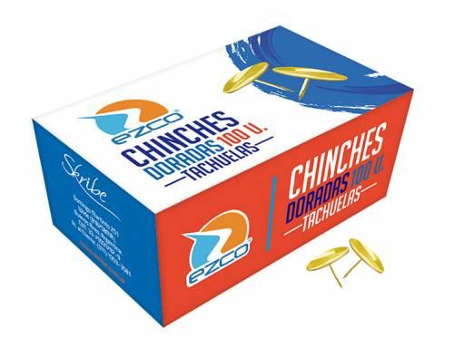 Chinches Doradas X 100 Unid Ezco