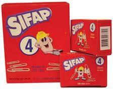 Clips Sifap Metal N° 4 X 100 Un