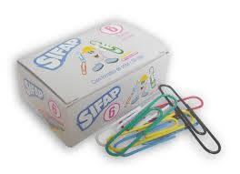 Clips Sifap Forrado Color N° 6 X 50 Un