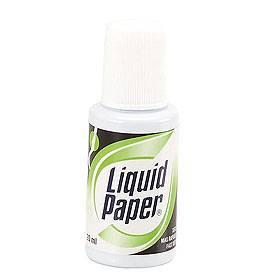 Corrector Liquid Paper Frasco C/pincel