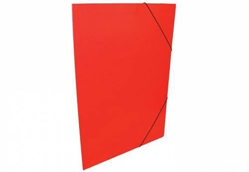 Carpeta 3 Solapas C/elástico 35x50 Plastificada Rojo