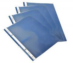 Carpeta Base Opaca T/transp Lama Oficio Azul