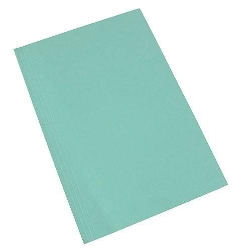 Carpeta Carátula Oficio Cartulina 240 Grs Util Of Verde