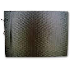 Carpeta C/cordón Fibra Negra Nº6 Util Of