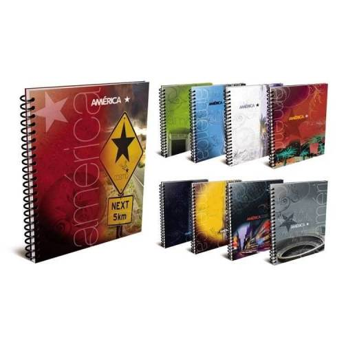 Cuaderno América 29,7 C/esp X 80 Hjs Rayado