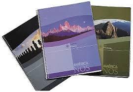 Cuaderno América 29,7 C/esp X 40 Hjs Cuadriculado