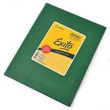 Cuaderno Éxito Forrado T/d 48 Hjs Cuadriculado Verde
