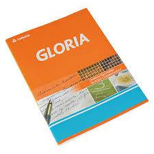 Cuaderno Gloria T/f X 84 Hjs Rayado