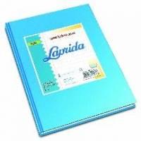 Cuaderno Laprida Forrado T/d 50 Hjs Rayado Celeste