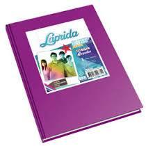 Cuaderno Laprida Forrado T/d 50 Hjs Rayado Lila