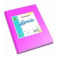 Cuaderno Laprida Forrado T/d 50 Hjs Rayado Rosa