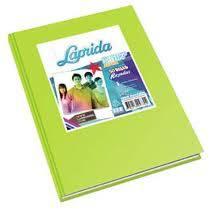 Cuaderno Laprida Forrado T/d 50 Hjs Rayado Verde Manzana