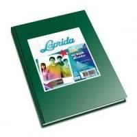 Cuaderno Laprida Forrado T/d 98 Hjs Cuadriculado Verde