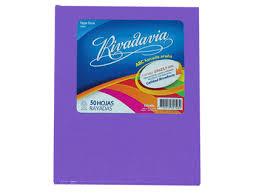 Cuaderno Rivadavia T/c Forrado Lila 50h Ray