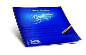 Cuaderno Rivadavia P/música T/f 20 Hjs