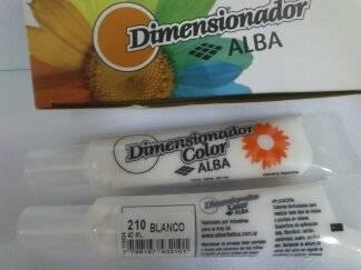 Dimensionador Color Alba 40 Ml 210 - Blanco